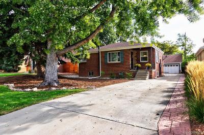 East Colfax, Montclair Single Family Home Active: 1176 Poplar Street