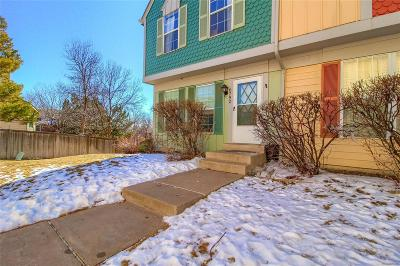 Littleton Condo/Townhouse Under Contract: 6792 South Holland Way