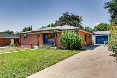 Westminster Single Family Home Active: 7485 Clay Street