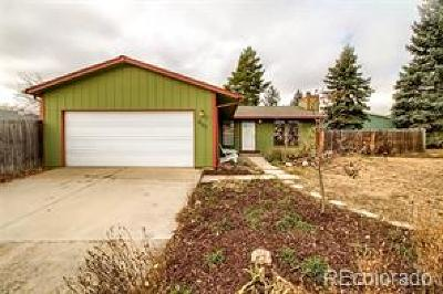 Niwot Single Family Home Under Contract: 7557 Nikau Drive