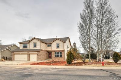 Longmont Single Family Home Under Contract: 11614 Victor Drive
