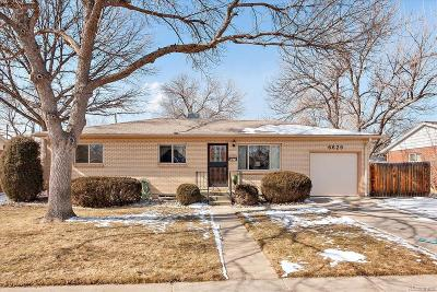 Arvada Single Family Home Active: 6629 Lewis Street