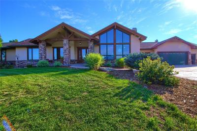 Castle Rock Single Family Home Under Contract: 351 Young Circle