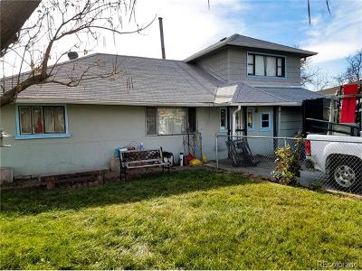 Commerce City Single Family Home Under Contract: 6850 East 77th Avenue