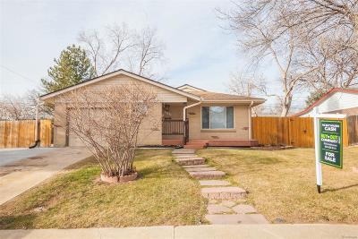 Arvada Single Family Home Active: 6343 Pierson Street