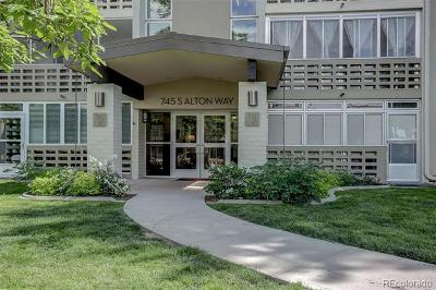 Denver Condo/Townhouse Active: 745 South Alton Way #9A