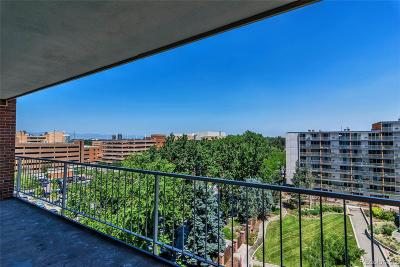 Denver Condo/Townhouse Under Contract: 4801 East 9th Avenue #703S