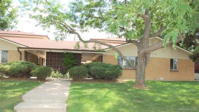 Wheat Ridge Condo/Townhouse Under Contract: 6410 West 44th Place #B1