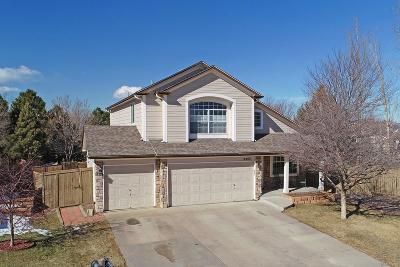 Castle Rock Single Family Home Active: 4485 West Antelope Run Court