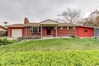 Wheat Ridge Single Family Home Under Contract: 2950 Xenon Street