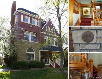 Denver Single Family Home Active: 1444 Stuart Street