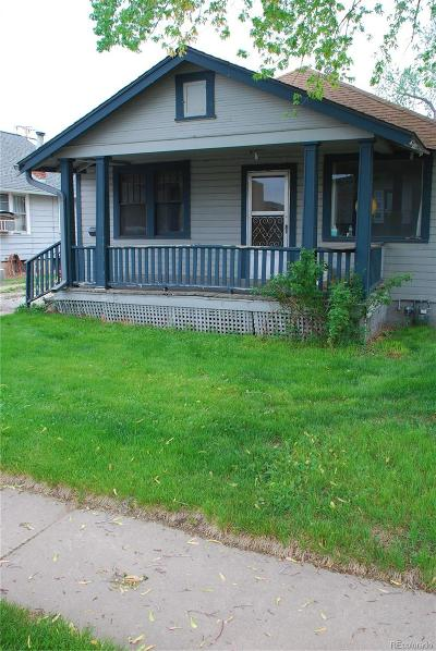 Englewood Single Family Home Under Contract: 3520 South Ogden Street