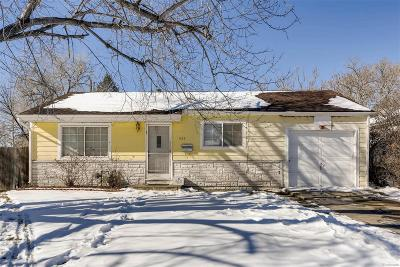 Aurora Single Family Home Under Contract: 945 Moline Street
