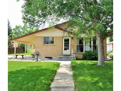 Northglenn Single Family Home Under Contract: 10665 Logan Court