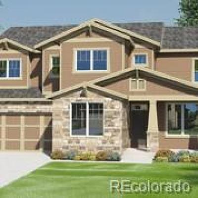 Castle Rock Single Family Home Under Contract: 537 Sage Grouse Circle