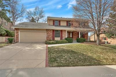 Centennial Single Family Home Active: 3378 East Easter Place
