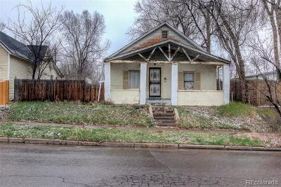 Denver Single Family Home Active: 1053 Knox Court