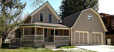 Steamboat Springs Single Family Home Active: 530 Pine Street