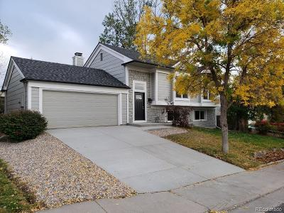 Centennial Single Family Home Under Contract: 5880 South Perth Place