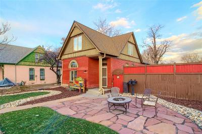 Denver Single Family Home Active: 3440 North Franklin Street