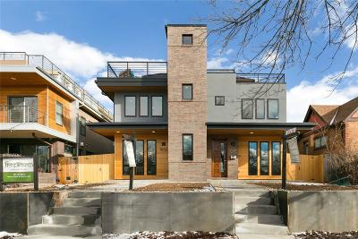 Denver Condo/Townhouse Sold: 1634 South Grant Street