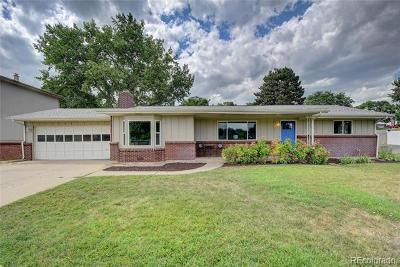 Wheat Ridge Single Family Home Active: 3295 Ward Road