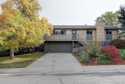 Littleton Single Family Home Active: 6022 West Alder Avenue
