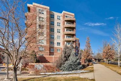Denver Condo/Townhouse Active: 4875 South Monaco Street #508