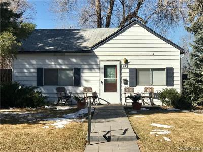 Littleton Single Family Home Active: 5567 South Foresthill Street