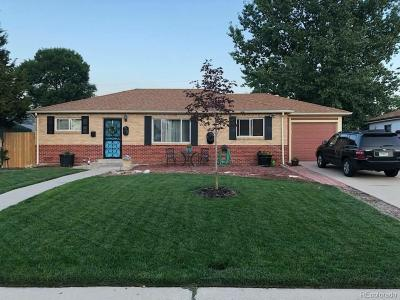 Thornton Single Family Home Active: 9281 York Street
