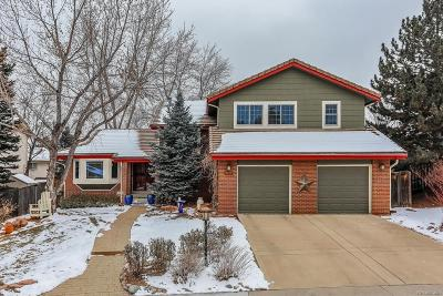 Highlands Ranch Single Family Home Active: 8753 Wildrose Court