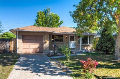 Wheat Ridge Single Family Home Under Contract: 3890 Chase Street