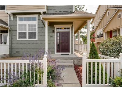 Castle Rock CO Condo/Townhouse Under Contract: $299,950