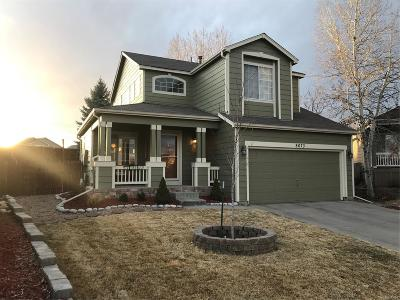 Parker Single Family Home Under Contract: 8673 Cloverleaf Circle