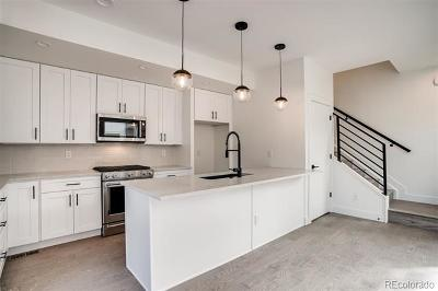 Denver Condo/Townhouse Active: 1368 Yates Street #2