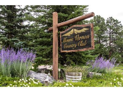 Golden Single Family Home Active: 482 Mt Evans Road