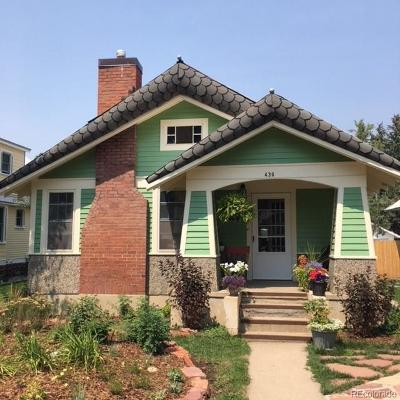 Steamboat Springs Single Family Home Active: 439 7th Street