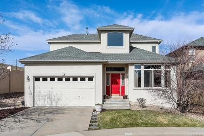 Centennial Single Family Home Under Contract: 4448 East Phillips Place