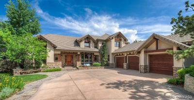 Castle Rock CO Single Family Home Active: $2,200,000