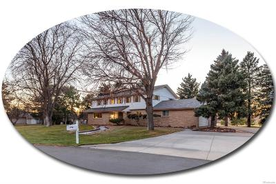 Centennial Single Family Home Under Contract: 6333 South Helena Street