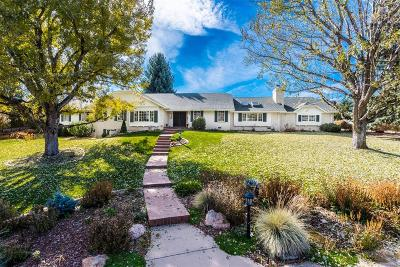 Cherry Hills Village Single Family Home Under Contract: 3260 Cherryridge Road