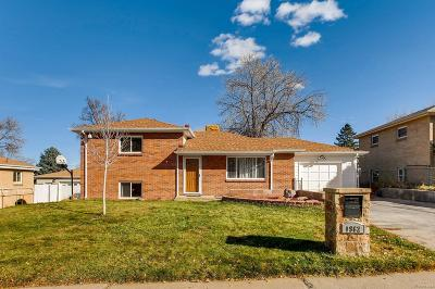 Denver Single Family Home Active: 1962 South Wolcott Court