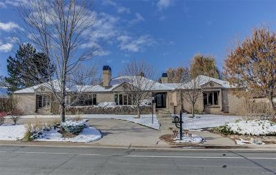 Littleton Single Family Home Under Contract: 75 Fairway Lane