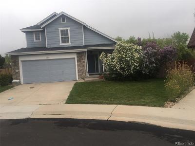 Parker Single Family Home Active: 12575 South Moose Creek Court