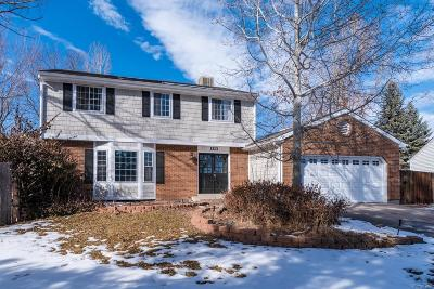Boulder County Single Family Home Active: 1313 Short Court
