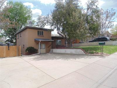 Commerce City Single Family Home Under Contract: 5530 Monaco Street