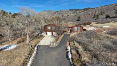 Lyons Single Family Home Under Contract: 1200 Ponderosa Hill Road