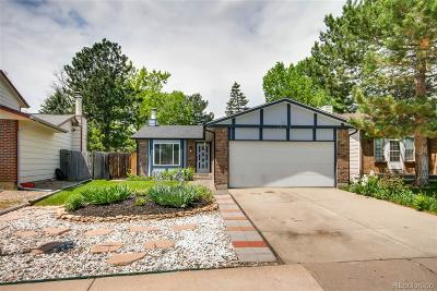 Westminster Single Family Home Active: 10521 Garrison Street