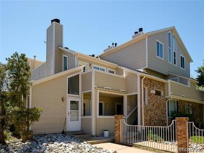 Wheat Ridge Condo/Townhouse Under Contract: 4921 Garrison Street #200C