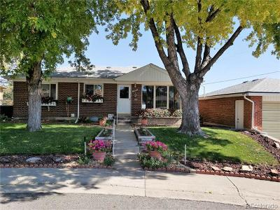 Northglenn Single Family Home Active: 10644 Clarkson Court